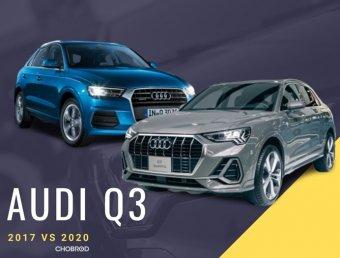 จับเก่ามาเทียบใหม่ Audi Q3 2020 VS Audi Q3 2017 ความใหม่ให้อะไรมากกว่า?