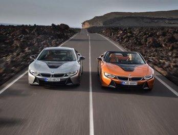 "BMW เปิดตัวซีรี่ส์  ""i8""  รุ่น Coupe"