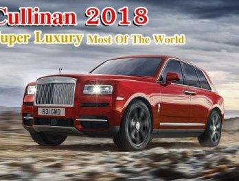 """รีวิว  """"คัลลิแนน""""  Rolls-Royce Cullinan 2018  รถเอสยูวี หรูที่สุดของโลก"""