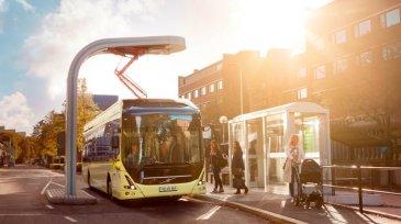 Volvo Bus ทดลองรถบัสไฟฟ้าใช้งานจริงในเม็กซิโก