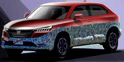 ใหญ่ขึ้น Honda HR-V 2021 โฉมใหม่ปรากฏตัว เตรียมเช็กบิล Toyota และ MG