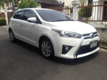 Toyota YARIS G 2014 hatchback