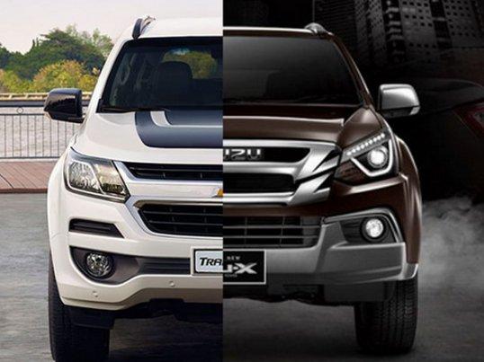 Chevrolet Trailblazer 2018 VS Isuzu Mu-X 2018 คันไหนดีกว่ากัน