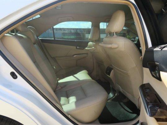 รถดี ฟรีดาวน์ CAMRY 2.5 HYBRID ปี 14 ขาวมุก สวย พร้อม 097-140-9242 ยู้