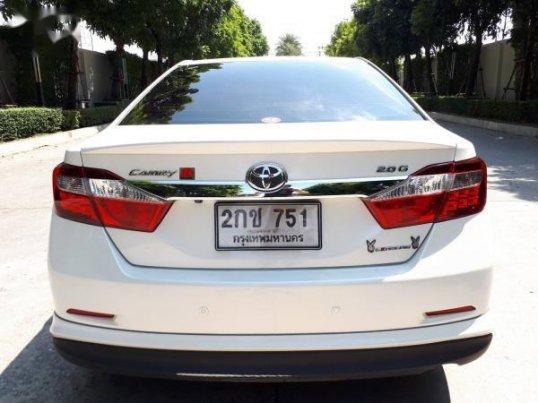 ขายรถ TOYOTA CAMRY G 2013 รถสวยราคาดี