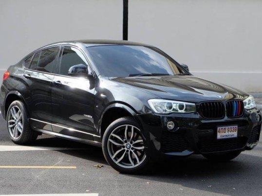 2016 BMW X4 2.0D M-Sport รุ่น TOP