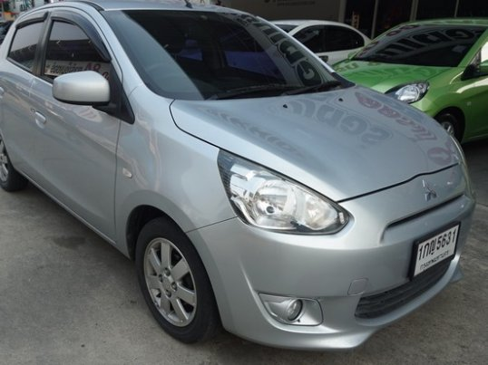 2012 Mitsubishi Mirage GLS Limited sedan