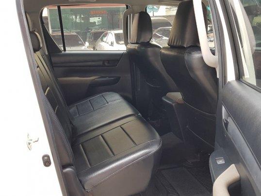 TOYOTA HILUX REVO Double Cab 2.4E Prerunner 4×2 A/T ปี2016 สีขาว-14
