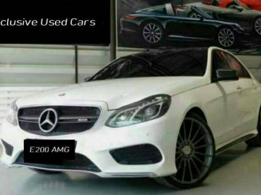 Mercedes-Benz E200 CGI BlueEFFICIENCY 2.0 W212 AMG ปี2014