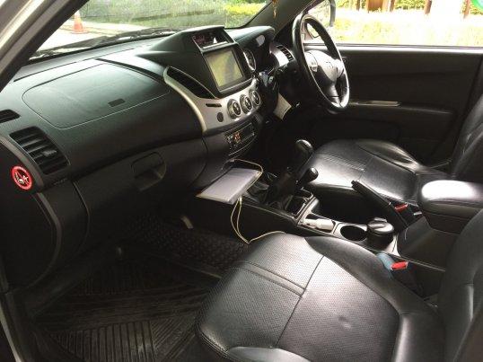 ขายไทรทันรถบ้าน 4 ประตู เกียร์โฟร์วิล 2013 Mitsubishi TRITON DOUBLE CAB GLX pickup-4