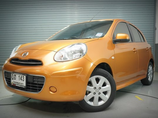 Nissan March 1.2 VL ปี 2010