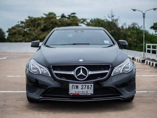 2014 Mercedes-Benz E200 Sport coupe -3