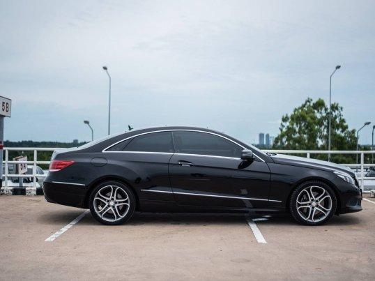 2014 Mercedes-Benz E200 Sport coupe -7