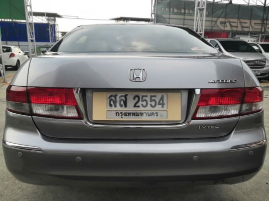 ฟรีดาวน์ HONDA ACCORD 2.0 EL i-VTEC LPG AT ปี 2006 (รหัส TKAC06)