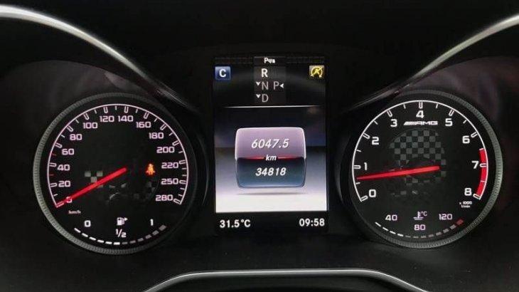 Mercedes Benz รุ่น C 43 AMG 2018.