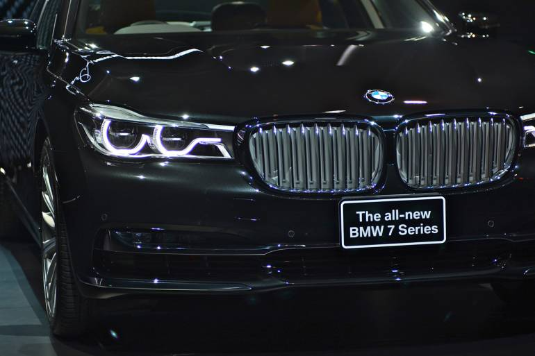 BMW NEW SERIES-7 G12 8