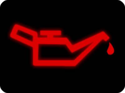สัญลักษณ์แสดงแรงดันน้ำมันเครื่อง